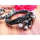 Sequins Shell Bracelet