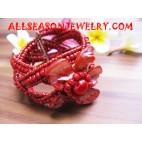 Shell Beaded Bracelets