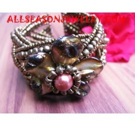 Shell Bracelet Squins