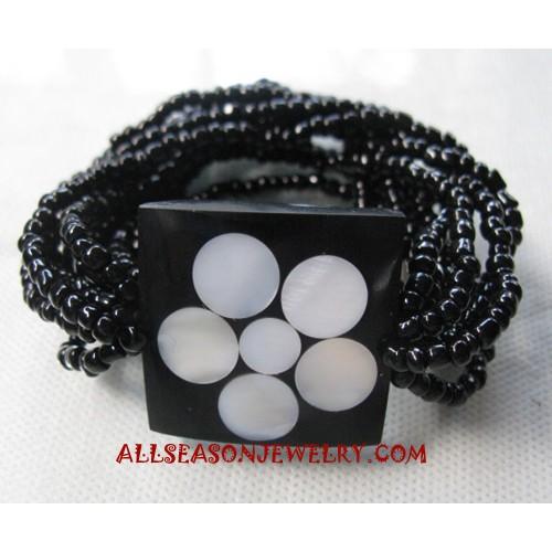 Shell Resin Bracelet