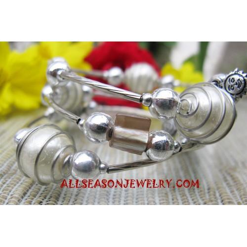 Stainless Bead Bracelets