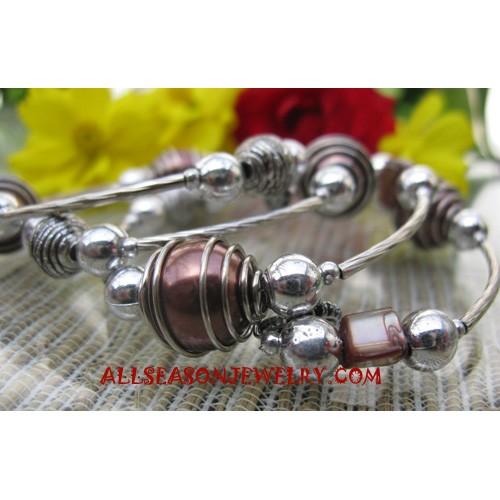 Stainless Beads Bracelet
