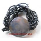 Stone Beaded Bracelet