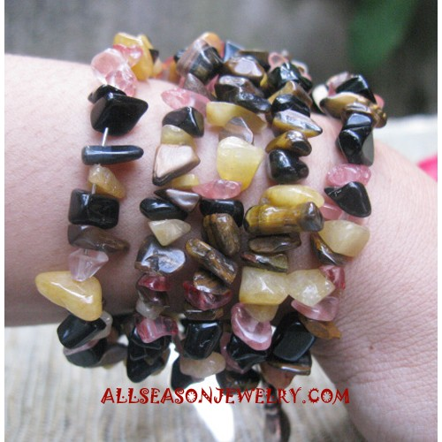 Stone Bracelet Beading
