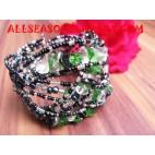 Stone Sequins Bracelet