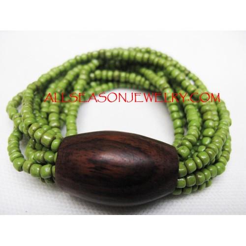 Stretching Beads Bracelet
