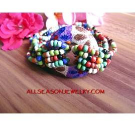 vintage seed bead bracelet