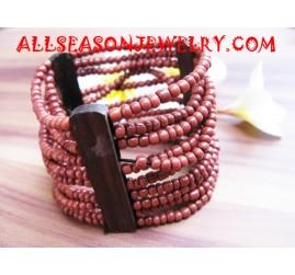 Wood Bead Bracelet Jewel