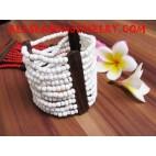 Wood Beading Bracelets