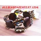 Wood Beads Bracelets