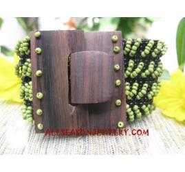 Wood Buckle Bracelet