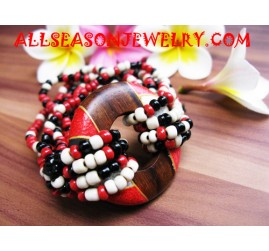 Wooden Beading Bracelet