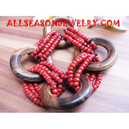 Wooden Beading Bracelets