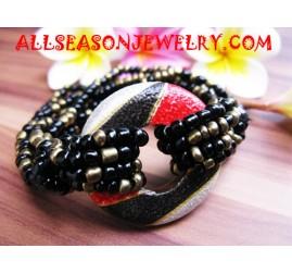 Woods Beads Bracelet