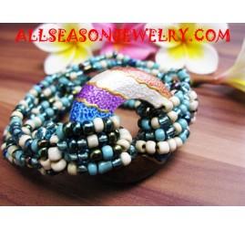 Woods Beads Bracelets