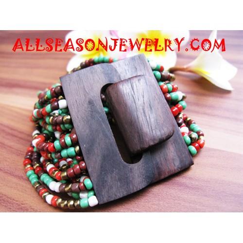 Woods Buckle Bracelet