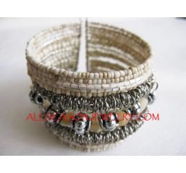 Crochet Seed Bracelet