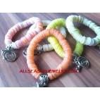 Chain Shell Bracelets