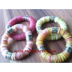Multi Color Bracelet Shell