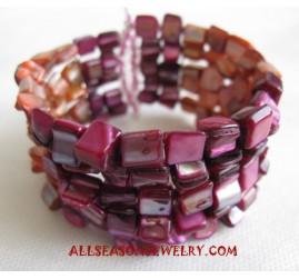 Cuff Seashell Bracelet