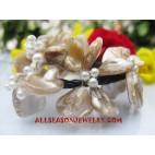 Seashell Bracelets Beaded