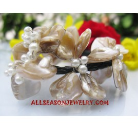 Seashell Bracelets Beaded