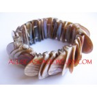 Organic Shell Bracelets