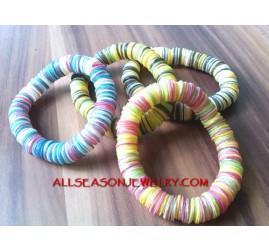 Stretched Shells Bracelet