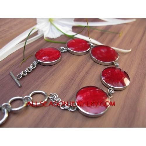 Stainless Shell Bracelet