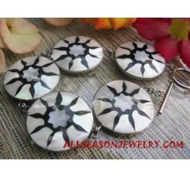Bracelet Seashell Handmade