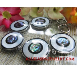 Bracelet Stainless Shells Abalone
