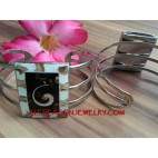 Cuff Fashion Bracelet Steel