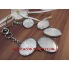 Resin Bracelet Shells Capiz