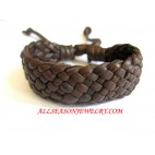 Leather Bracelet Brown