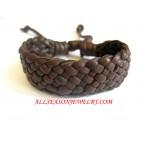 Leather Bracelet Brown
