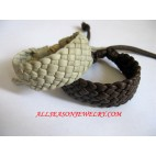 Leather Bracelet Elastic