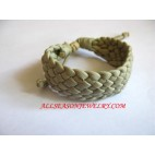 Leather Bracelet Natural