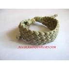 Leather Bracelet Natural