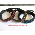Leather Bracelet Combination