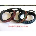 Leather Bracelet Combination