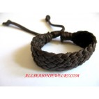 Plain Leather Bracelet