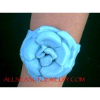 Bracelet Leather Flower