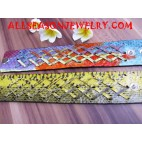 snake leather eccessories
