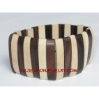 Bali Wood Bracelet Natural