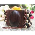 Beads Wooden Bracelet