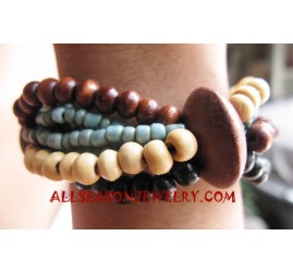 Stretch Woods Bracelets