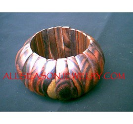 Wooden Sono Bracelet Stretch