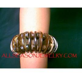 Organic Wood Coco Bracelet