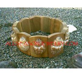 Wooden Shells Bracelets