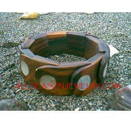 Natural Wood Shells Men's